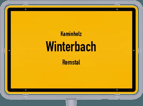 Kaminholz & Brennholz-Angebote in Winterbach (Remstal), Großes Bild