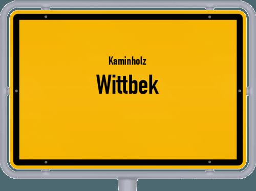 Kaminholz & Brennholz-Angebote in Wittbek, Großes Bild