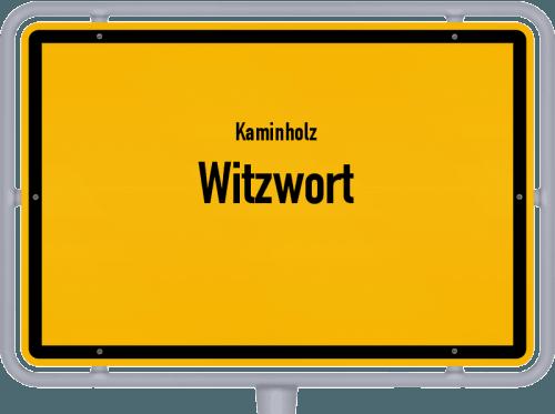 Kaminholz & Brennholz-Angebote in Witzwort, Großes Bild