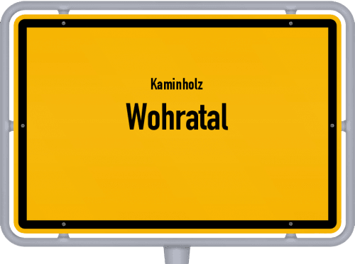 Kaminholz & Brennholz-Angebote in Wohratal, Großes Bild