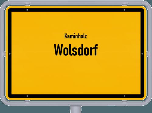 Kaminholz & Brennholz-Angebote in Wolsdorf, Großes Bild