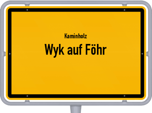 Kaminholz & Brennholz-Angebote in Wyk auf Föhr, Großes Bild