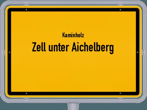 Kaminholz & Brennholz-Angebote in Zell unter Aichelberg, Großes Bild