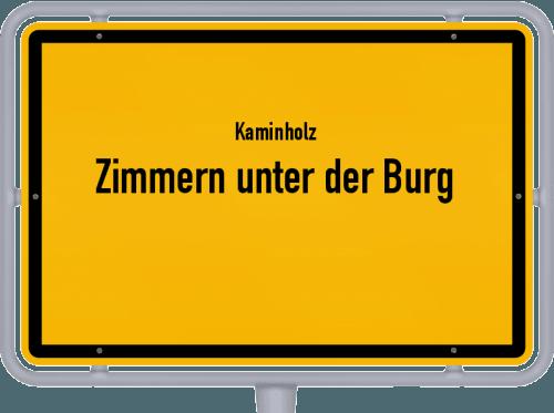 Kaminholz & Brennholz-Angebote in Zimmern unter der Burg, Großes Bild