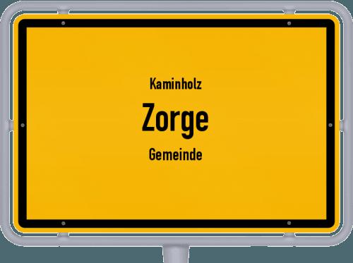 Kaminholz & Brennholz-Angebote in Zorge (Gemeinde), Großes Bild