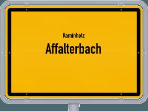 Kaminholz & Brennholz-Angebote in Affalterbach