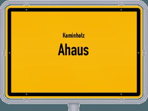 Kaminholz & Brennholz-Angebote in Ahaus