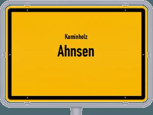 Kaminholz & Brennholz-Angebote in Ahnsen