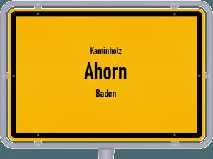 Kaminholz & Brennholz-Angebote in Ahorn (Baden)