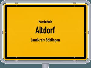 Kaminholz & Brennholz-Angebote in Altdorf (Landkreis Böblingen)