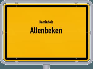 Kaminholz & Brennholz-Angebote in Altenbeken
