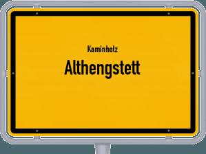 Kaminholz & Brennholz-Angebote in Althengstett
