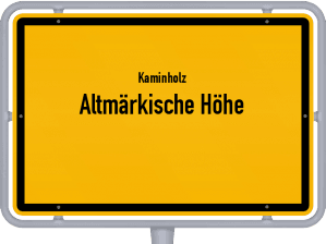 Kaminholz & Brennholz-Angebote in Altmärkische Höhe