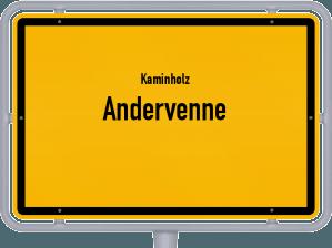 Kaminholz & Brennholz-Angebote in Andervenne
