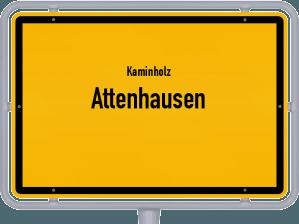 Kaminholz & Brennholz-Angebote in Attenhausen