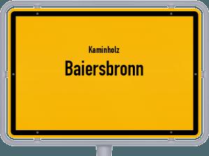 Kaminholz & Brennholz-Angebote in Baiersbronn