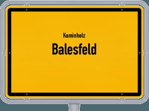 Kaminholz & Brennholz-Angebote in Balesfeld