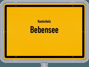 Kaminholz & Brennholz-Angebote in Bebensee