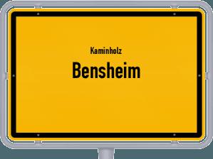 Kaminholz & Brennholz-Angebote in Bensheim