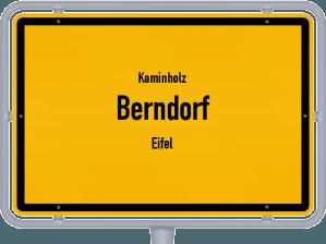Kaminholz & Brennholz-Angebote in Berndorf (Eifel)