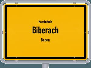 Kaminholz & Brennholz-Angebote in Biberach (Baden)