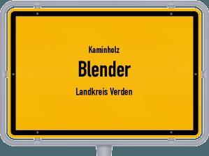 Kaminholz & Brennholz-Angebote in Blender (Landkreis Verden)