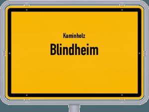 Kaminholz & Brennholz-Angebote in Blindheim