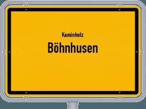 Kaminholz & Brennholz-Angebote in Böhnhusen