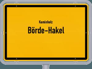 Kaminholz & Brennholz-Angebote in Börde-Hakel