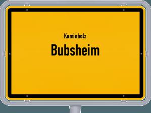 Kaminholz & Brennholz-Angebote in Bubsheim