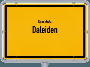 Kaminholz & Brennholz-Angebote in Daleiden