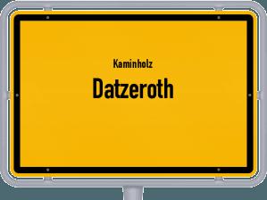 Kaminholz & Brennholz-Angebote in Datzeroth