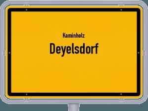 Kaminholz & Brennholz-Angebote in Deyelsdorf