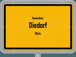 Kaminholz & Brennholz-Angebote in Diedorf (Rhön)