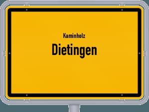 Kaminholz & Brennholz-Angebote in Dietingen