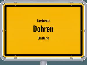 Kaminholz & Brennholz-Angebote in Dohren (Emsland)