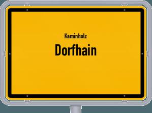 Kaminholz & Brennholz-Angebote in Dorfhain