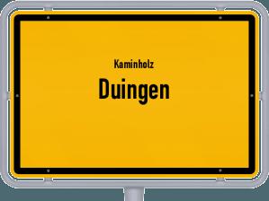 Kaminholz & Brennholz-Angebote in Duingen