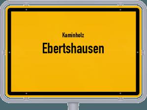 Kaminholz & Brennholz-Angebote in Ebertshausen