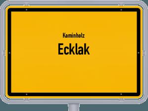 Kaminholz & Brennholz-Angebote in Ecklak