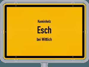 Kaminholz & Brennholz-Angebote in Esch (bei Wittlich)