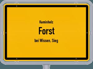 Kaminholz & Brennholz-Angebote in Forst (bei Wissen, Sieg)