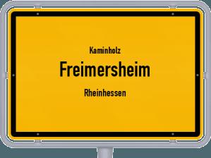 Kaminholz & Brennholz-Angebote in Freimersheim (Rheinhessen)