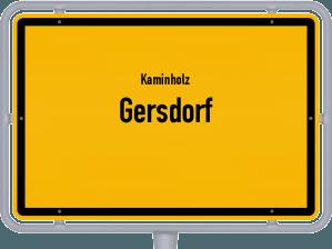 Kaminholz & Brennholz-Angebote in Gersdorf