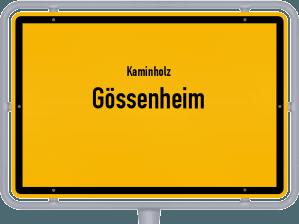 Kaminholz & Brennholz-Angebote in Gössenheim