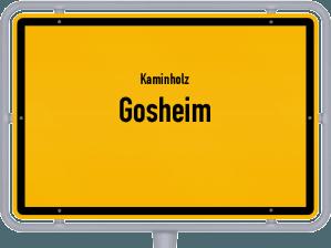 Kaminholz & Brennholz-Angebote in Gosheim