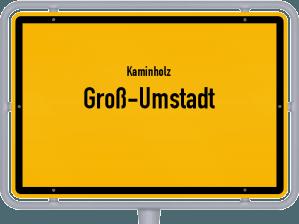 Kaminholz & Brennholz-Angebote in Groß-Umstadt