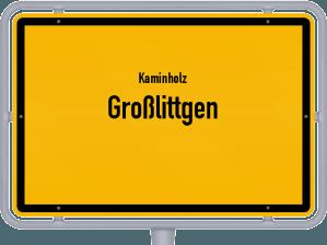 Kaminholz & Brennholz-Angebote in Großlittgen