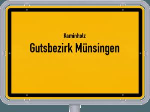 Kaminholz & Brennholz-Angebote in Gutsbezirk Münsingen