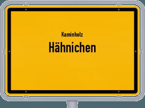 Kaminholz & Brennholz-Angebote in Hähnichen